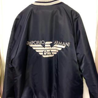 エンポリオアルマーニ(Emporio Armani)の美品 EMPORIO ARMANI MAー1 ジャケット(ブルゾン)