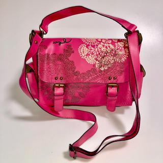 デシグアル(DESIGUAL)のDesigual ♡ ショルダーバッグ pink(ショルダーバッグ)