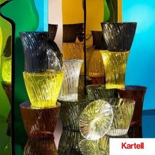 カルテル(kartell)の新品未使用!カルテル スパークル サイドテーブル カッシーナ フランフラン(コーヒーテーブル/サイドテーブル)