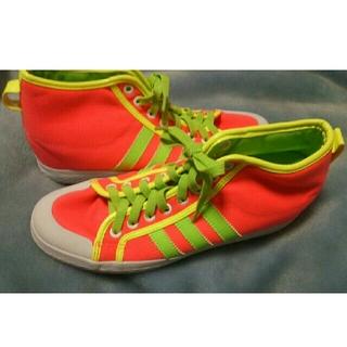 アディダス(adidas)のアディダス ニッツァHi 希少カラー試足程度の美品です(スニーカー)