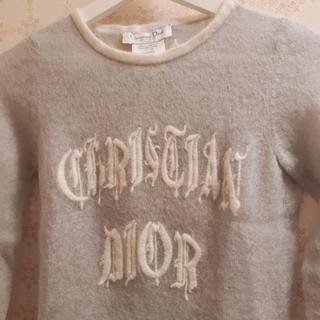 クリスチャンディオール(Christian Dior)のChristian Dior ロゴ モヘアニット(ニット/セーター)