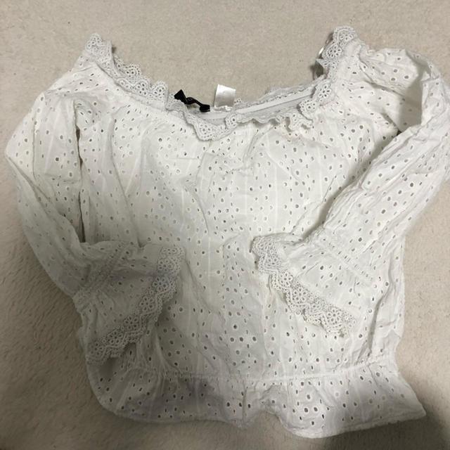 ZARA(ザラ)のオフィショル レディースのトップス(シャツ/ブラウス(半袖/袖なし))の商品写真