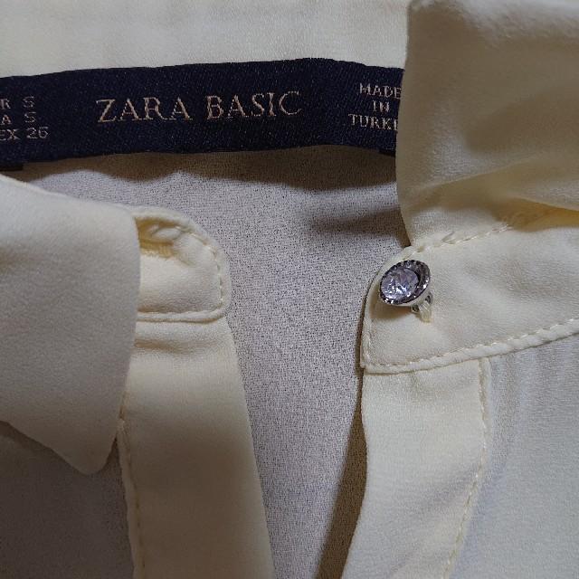 ZARA(ザラ)のZARA  レーヨンブラウス レディースのトップス(シャツ/ブラウス(半袖/袖なし))の商品写真