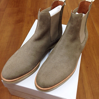 コモンプロジェクト(COMMON PROJECTS)のCommon Projects Chelsea boots スエード ブーツ(ブーツ)