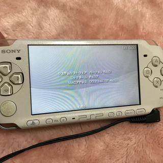 プレイステーションポータブル(PlayStation Portable)のPSP 3000 本体  付属品、バッテリー無し!格安出品(携帯用ゲーム本体)