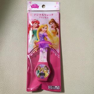 ディズニー(Disney)のデジタルウォッチ プリンセス(腕時計)