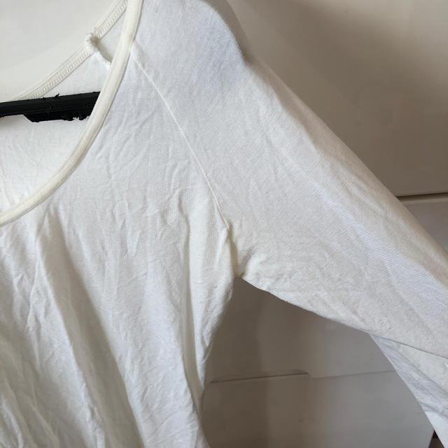 しまむら(シマムラ)の着用回数一度のみ☆ファイバーヒート ホワイト L レディースの下着/アンダーウェア(アンダーシャツ/防寒インナー)の商品写真