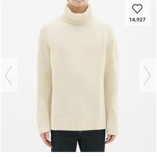 GU - 未使用☆GU ローゲージタートルネットセーター