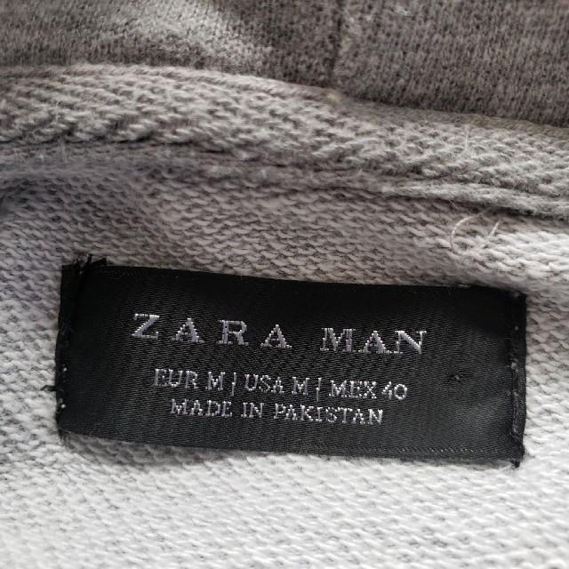 ZARA(ザラ)のグレーのパーカー レディースのトップス(パーカー)の商品写真