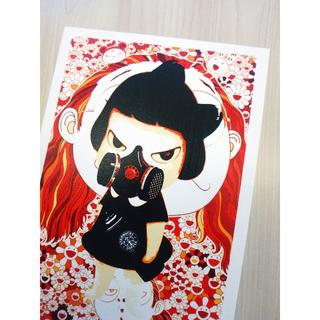 【A4/アートポスター】 DEATH YNC 『Nara Shadow O』(絵画/タペストリー)