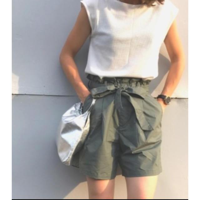 UNIQLO(ユニクロ)のユニクロ ハイライズショートパンツ xs レディースのパンツ(ショートパンツ)の商品写真