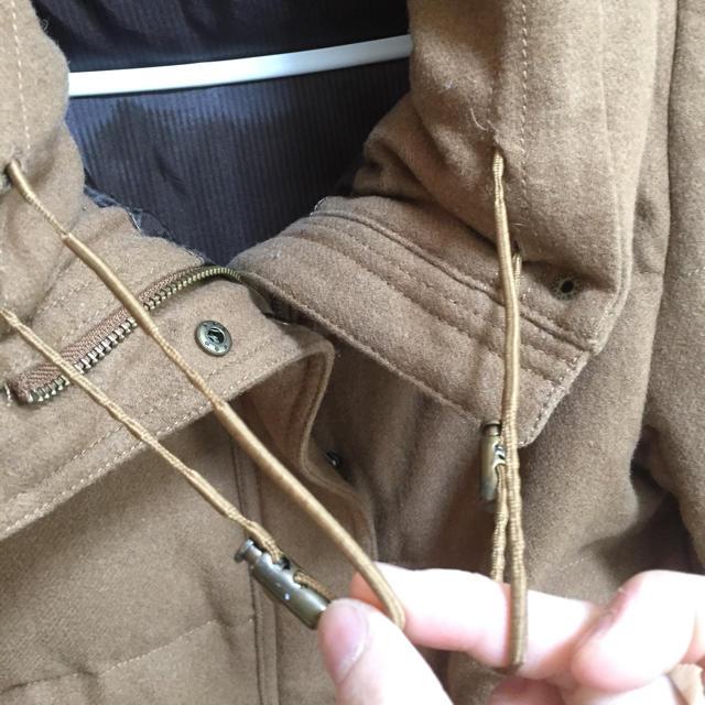 Adam et Rope'(アダムエロぺ)の🍀【アダム エ ロペ】キャメル ダウンジャケット38 レディースのジャケット/アウター(ダウンジャケット)の商品写真