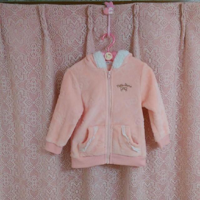 パーカー キッズ/ベビー/マタニティのキッズ服 女の子用(90cm~)(ジャケット/上着)の商品写真