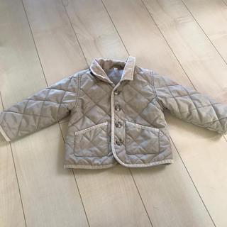 ムジルシリョウヒン(MUJI (無印良品))の無印良品 キルティングコート 90(ジャケット/上着)