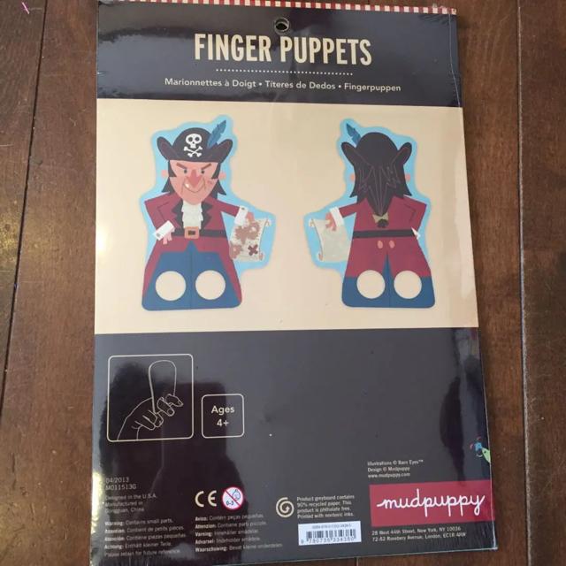 指人形 キッズ/ベビー/マタニティのおもちゃ(知育玩具)の商品写真