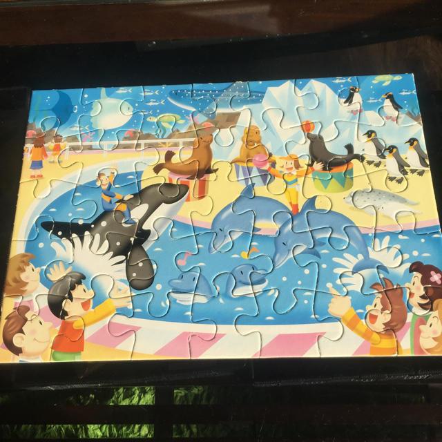 KUMON  Step3 パズル 楽しい動物園 35ピース キッズ/ベビー/マタニティのおもちゃ(知育玩具)の商品写真