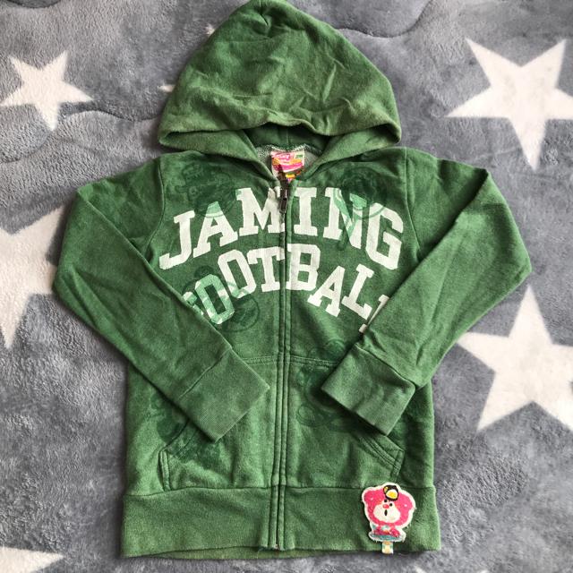 JAM(ジャム)のジャム ジップアップパーカー キッズ/ベビー/マタニティのキッズ服 男の子用(90cm~)(その他)の商品写真