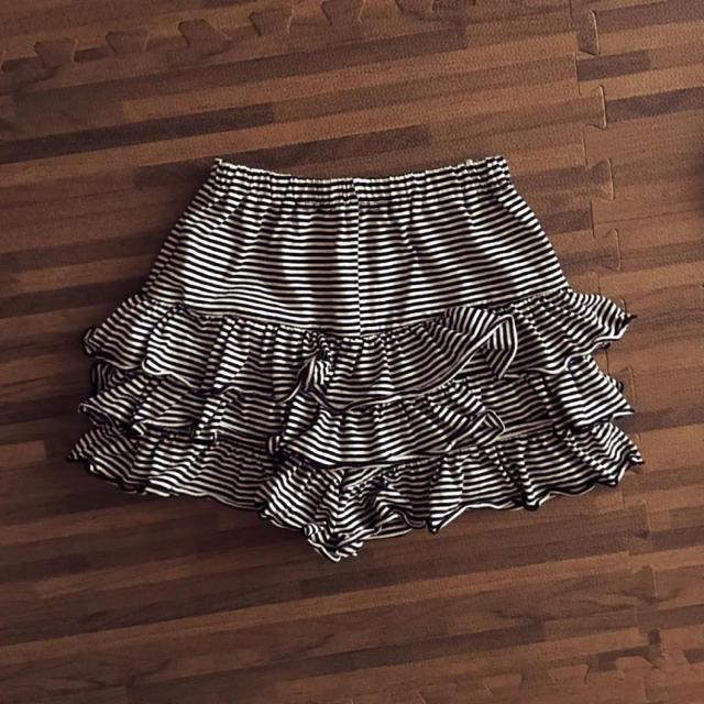 女の子 キッズ❁130 スカパン キッズ/ベビー/マタニティのキッズ服 女の子用(90cm~)(パンツ/スパッツ)の商品写真