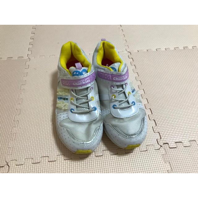 女の子 スニーカー キッズ/ベビー/マタニティのキッズ靴/シューズ (15cm~)(スニーカー)の商品写真