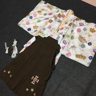 松田聖子 七五三  5歳 男の子 袴 着物