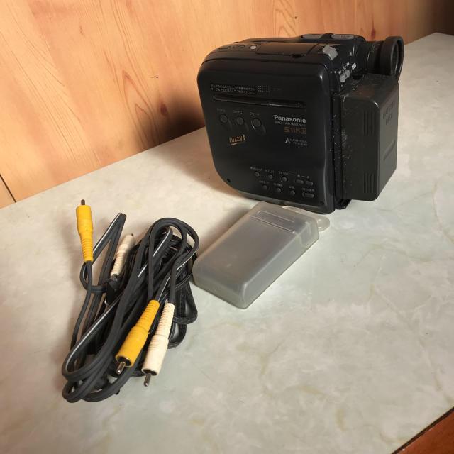 ビデオカメラ Panasonic S VHS C ジャンク スマホ/家電/カメラのカメラ(ビデオカメラ)の商品写真