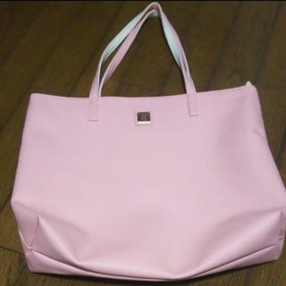 シマムラ(しまむら)のトートバッグ A4 ピンク 新品未使用(トートバッグ)