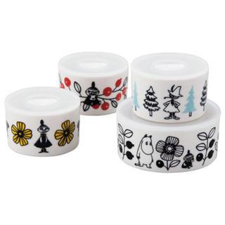 リトルミー(Little Me)の⁂新商品⁂ムーミン レンジ4点セット 陶器(容器)