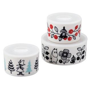 リトルミー(Little Me)の⁂新商品⁂ムーミン レンジ3点セット 陶器(容器)