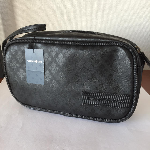 PATRICK COX(パトリックコックス)のパトリックコックスブラック セカンドバッグ メンズのバッグ(その他)の商品写真