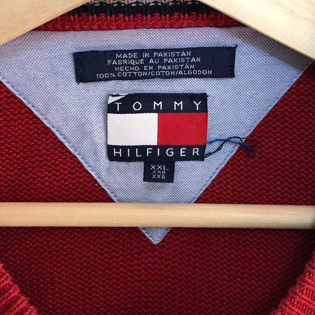 TOMMY HILFIGER(トミーヒルフィガー)のTOMMY HILFIGER ニットセーター          メンズのトップス(ニット/セーター)の商品写真