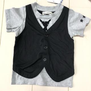 しまむら - 新品未使用☆重ね着風 キッズ Tシャツ 90cm