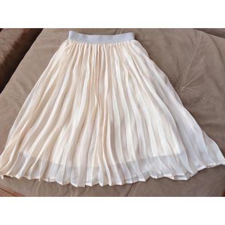 ジーユー(GU)のプリーツスカート130センチ☆GU(スカート)