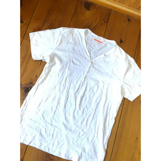 ザラ(ZARA)の白Tシャツ メンズ ZARA(Tシャツ/カットソー(半袖/袖なし))