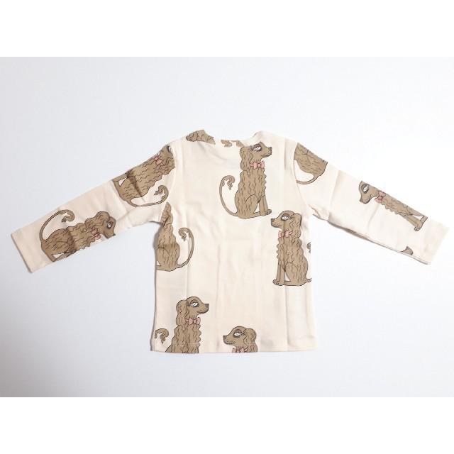 こども ビームス(コドモビームス)のminirodini ミニロディーニ mini rodini 犬 長袖Tシャツ キッズ/ベビー/マタニティのベビー服(~85cm)(シャツ/カットソー)の商品写真