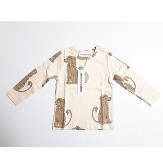 コドモビームス(こども ビームス)のminirodini ミニロディーニ mini rodini 犬 長袖Tシャツ(シャツ/カットソー)