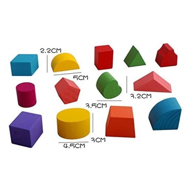 知育玩具立体カラフルパズル積み木木製パズルボックスブロック キッズ/ベビー/マタニティのおもちゃ(知育玩具)の商品写真