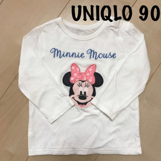 UNIQLO(ユニクロ)のUNIQLO Tシャツ 90㎝ キッズ/ベビー/マタニティのキッズ服 男の子用(90cm~)(Tシャツ/カットソー)の商品写真