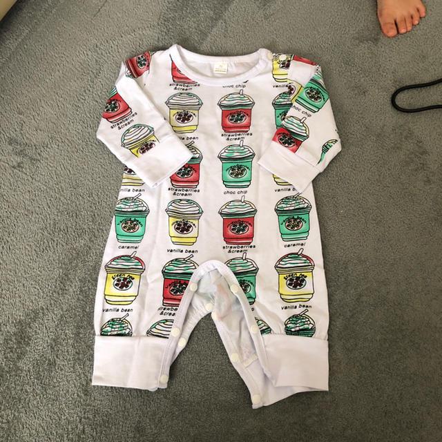 ロンパース キッズ/ベビー/マタニティのベビー服(~85cm)(ロンパース)の商品写真