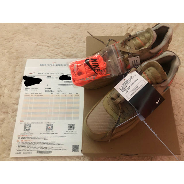 NIKE(ナイキ)のNIKE airmax90 off-white 24.5 メンズの靴/シューズ(スニーカー)の商品写真