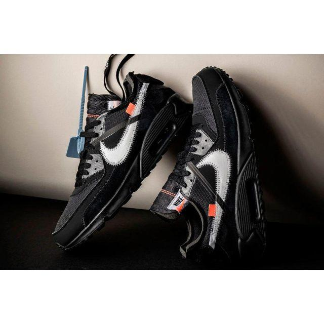 NIKE(ナイキ)のオフホワイト x ナイキ エア マックス90 メンズの靴/シューズ(スニーカー)の商品写真