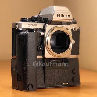 ニコン(Nikon)のニコンF3/Tシルバー モードラ付き 撮影確認済み(フィルムカメラ)