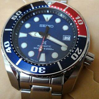 セイコー(SEIKO)の限定品 セイコーダイバー SUMO レッドハンズ プロスペックス 自動巻(腕時計(アナログ))