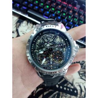 ロジェデュブイ(ROGER DUBUIS)のロジェデュブイ メンズファッション 自動巻き 腕時計 ラバーベルト(ラバーベルト)