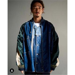 サカイ(sacai)のsacai  19ss  Dr.Woo Denim×Stadium Jacket(スカジャン)