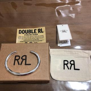 ダブルアールエル(RRL)のRRL シルバーバングル L サイズ 新品未使用(バングル/リストバンド)
