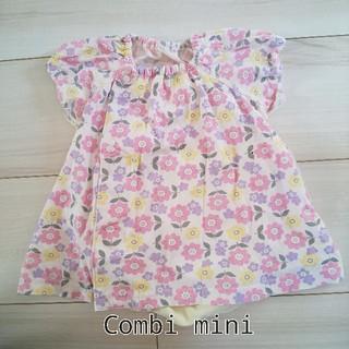 コンビミニ(Combi mini)のcombi mini カバーオール 女の子 50-70cm(カバーオール)