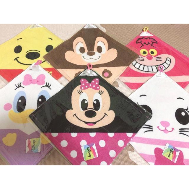 ディズニー ループ付きタオル 女の子 エンタメ/ホビーのアニメグッズ(タオル)の商品写真