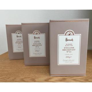 ハロッズ(Harrods)のハロッズ 紅茶 No.14 リーフ 200g × 3箱(茶)