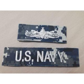 【米海軍放出品】NWU制服用チェストパッチ 2枚セット(個人装備)