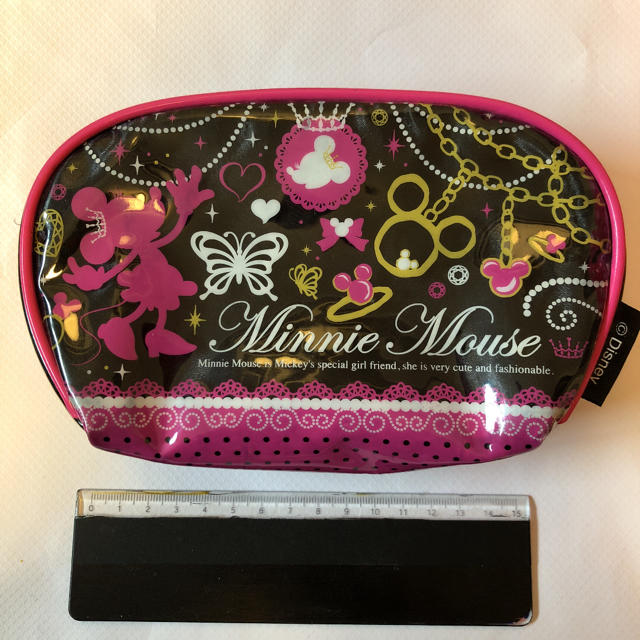Disney(ディズニー)のディズニー  ミニーマウス ポーチ 化粧ポーチ レディースのファッション小物(ポーチ)の商品写真